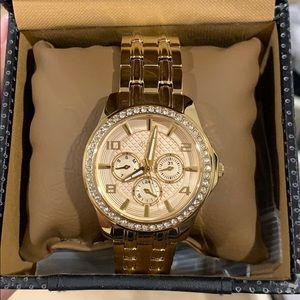 Like New Gold Guess Watch